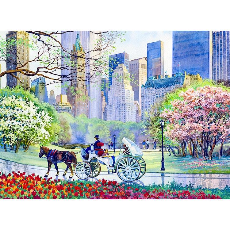 750x750 Spring In Central Park New York Art