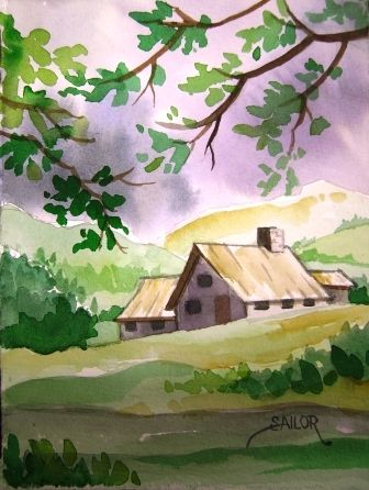 336x446 Easy Watercolor Paintings Showing (20) Pics For Easy Watercolor