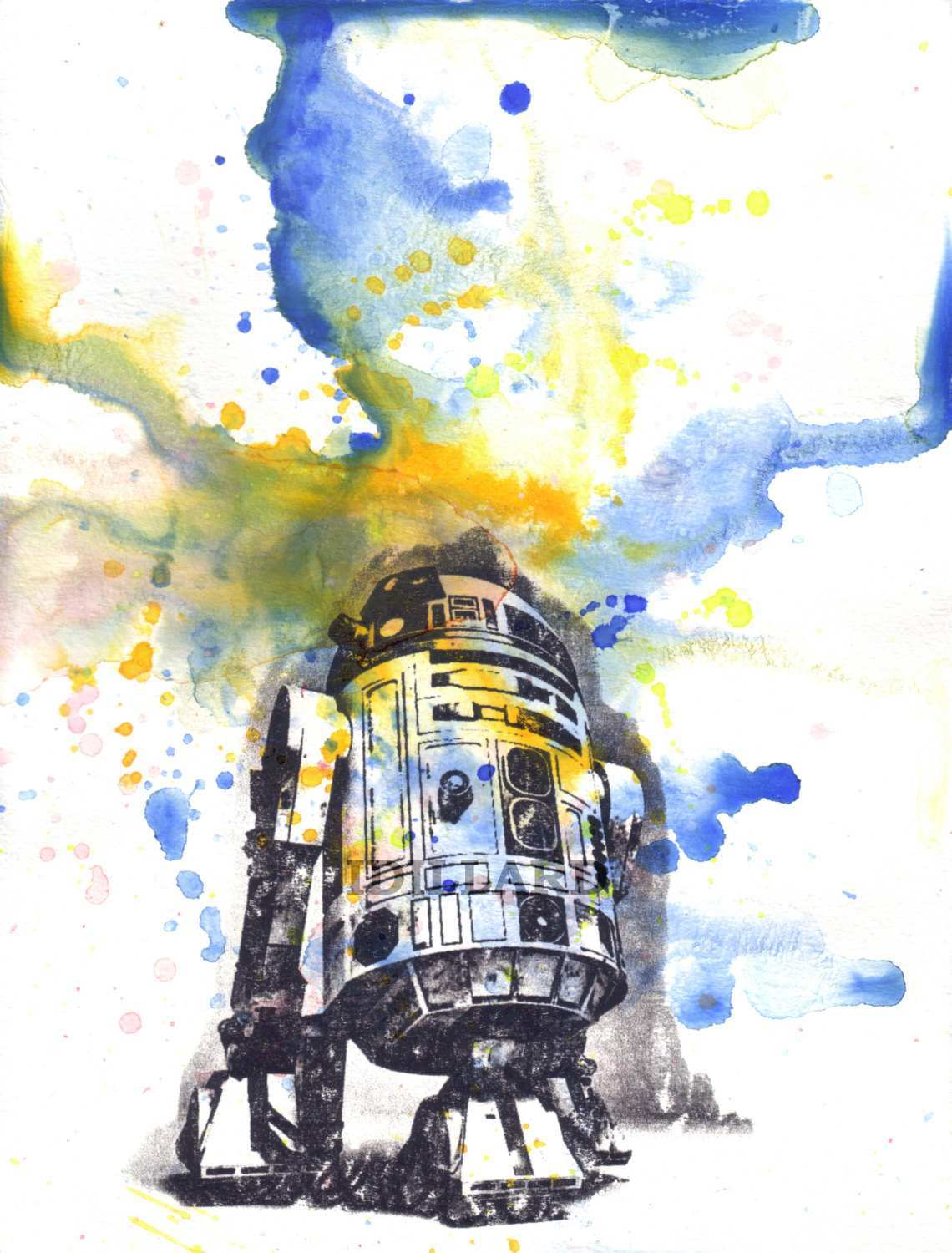 1140x1500 Star Wars Paintings Canvas Beautiful Items Similar To Star Wars
