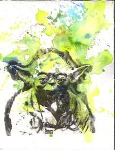 Star Wars Watercolor Painting