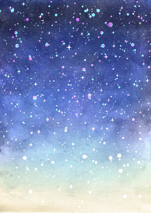 Starry Night Watercolor at GetDrawings com | Free for personal use