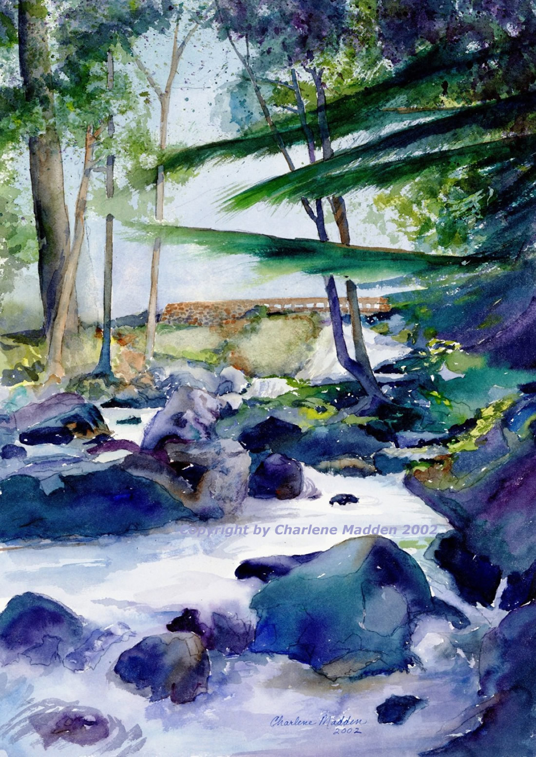 1100x1553 Landscapes In Watercolor By Pakville Artist Charlene Madden.