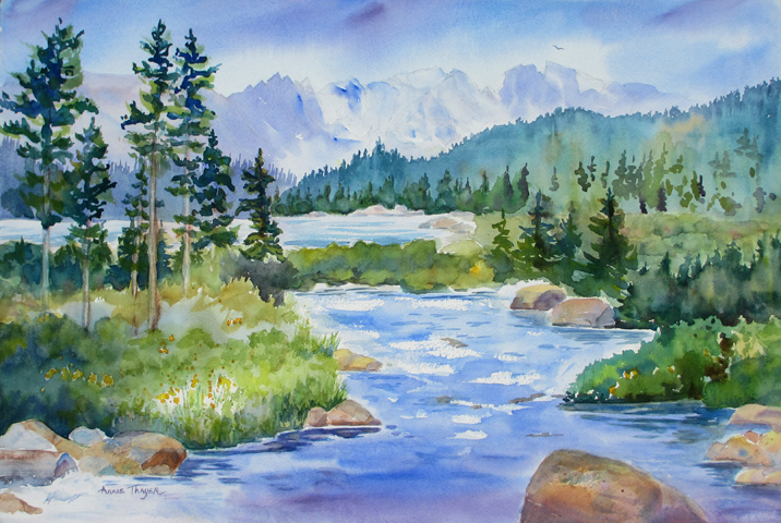 716x480 Annie Thayer Watercolors