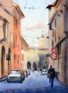 Street Watercolor