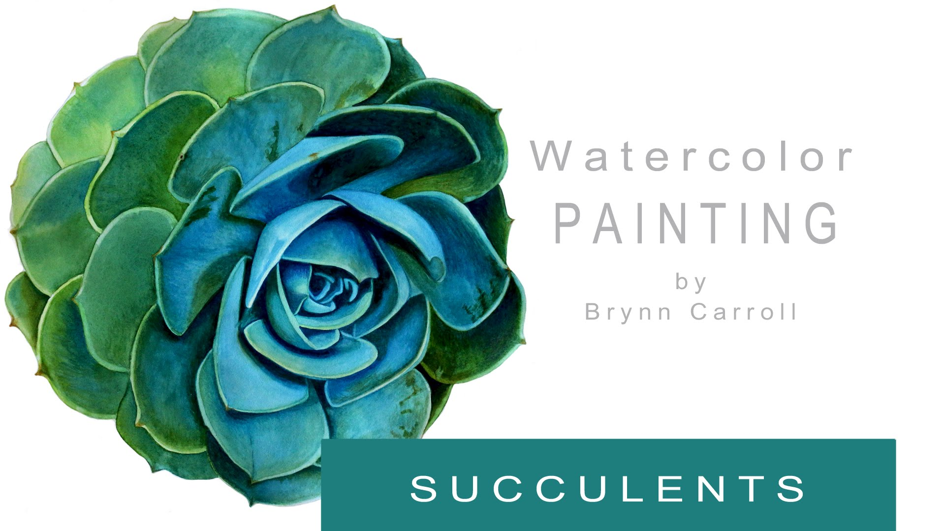 1920x1080 How To Paint A Realistic Succulent