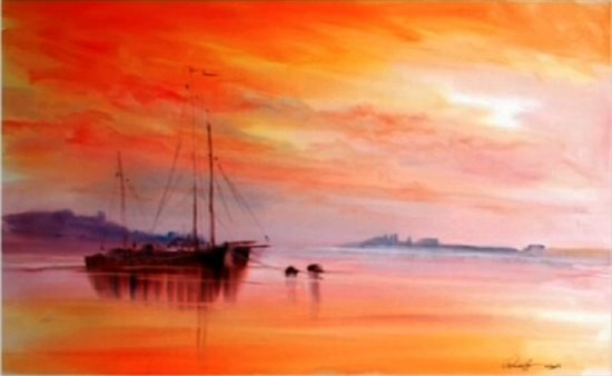 550x338 Brighten Your Day With Landscape Painting In Watercolor