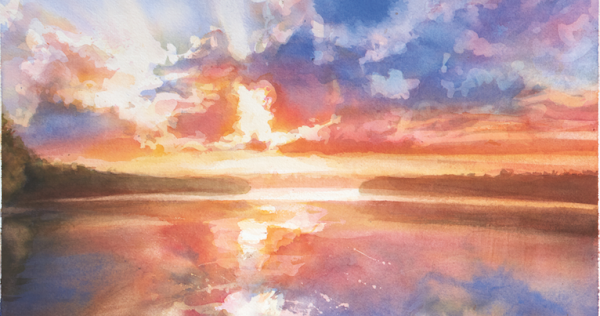 600x316 Watercolor Workshop Painting The Colors Of Sunsets