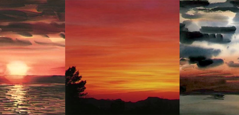 800x385 How To Paint Sunsets In Watercolor Painting Techniques