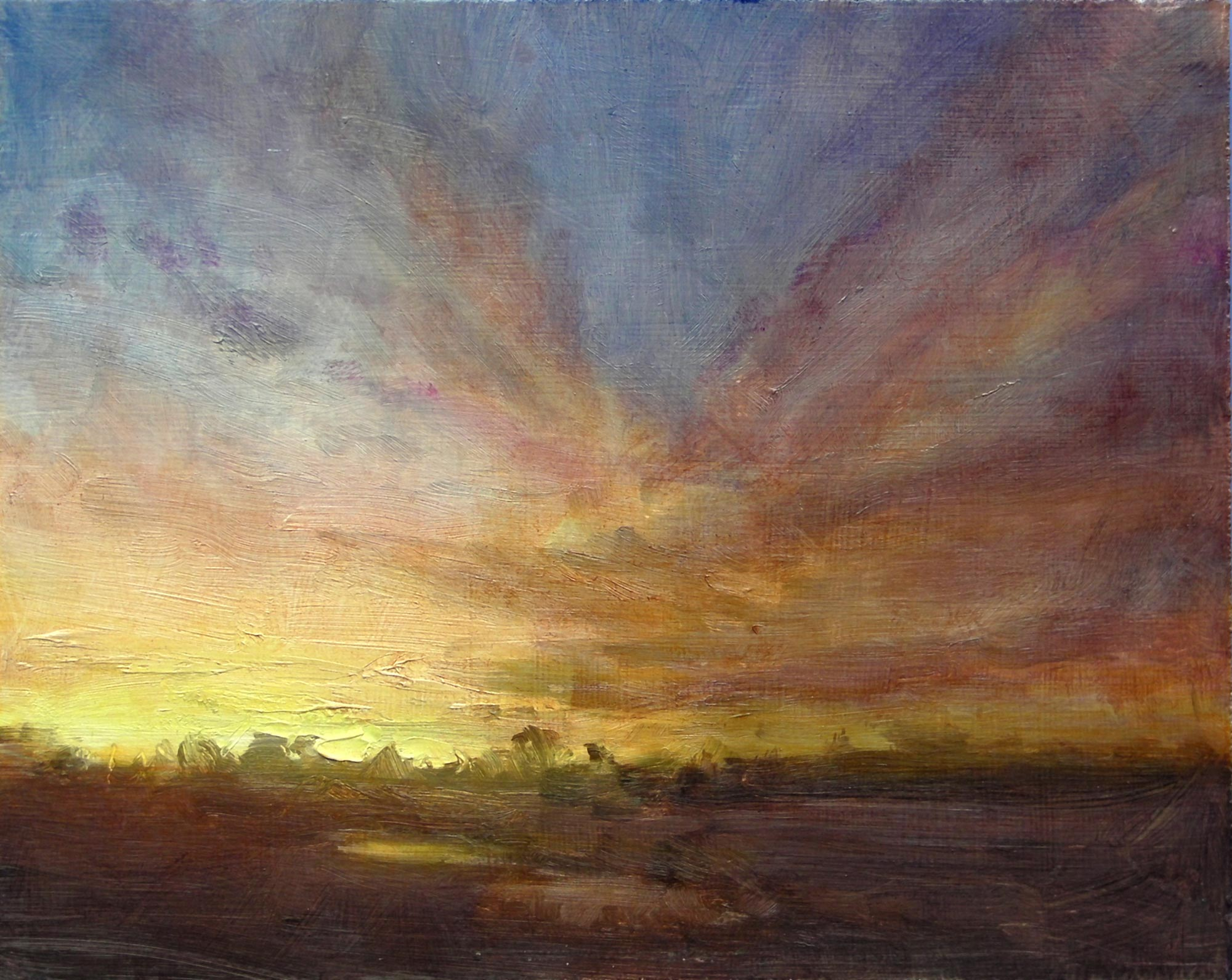 2000x1590 Online Painting Workshop 25 Mastering Sunsets 1 Of 4.