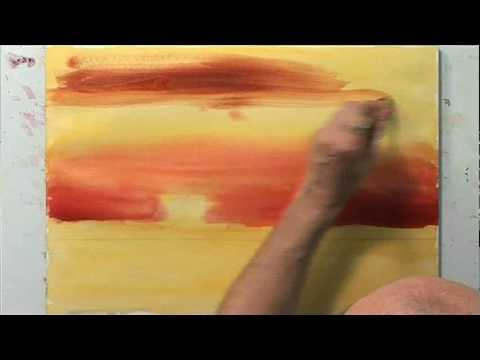 480x360 Preview Improve Your Sunsets In Watercolor With Patrick Howe