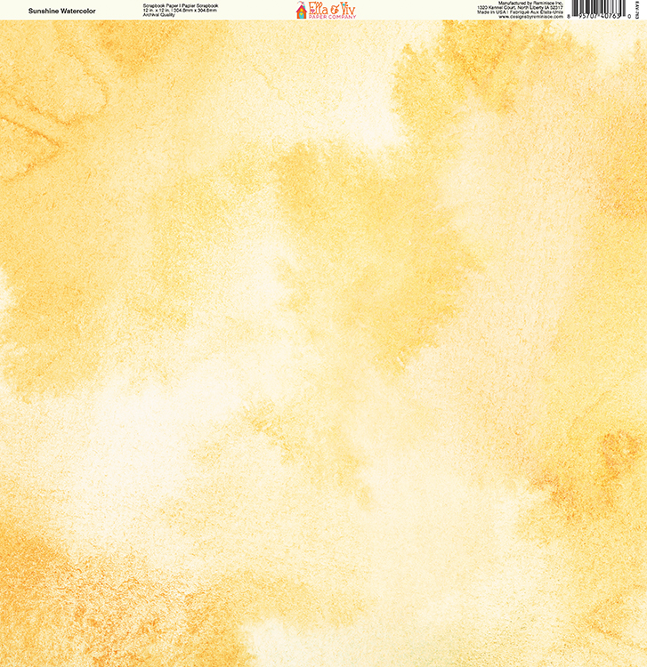 727x750 Ella And Viv Paper Company Painted Sunshine Watercolor Paper