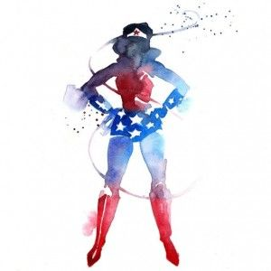 300x300 Gorgeous Superhero Watercolors To Class Up Your Living Space @the
