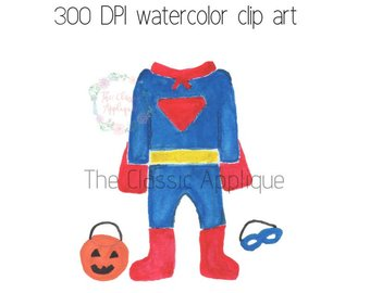 340x270 Superhero Watercolor Etsy