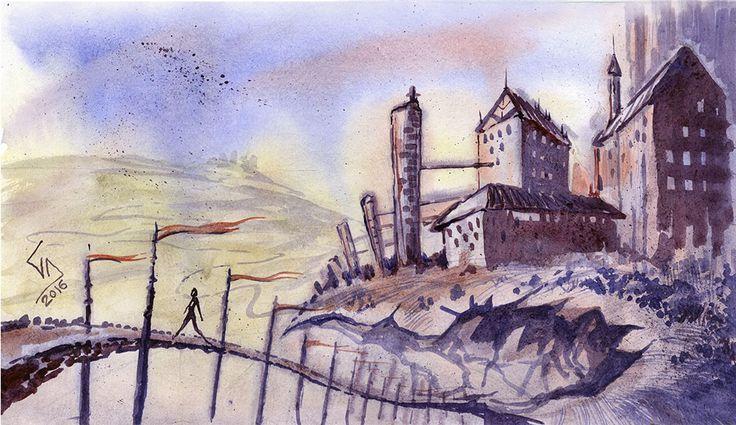 Surrealism Watercolor