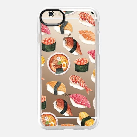560x560 Watercolor Sushi Casetify