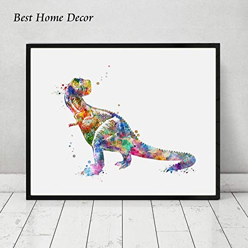 T Rex Watercolor