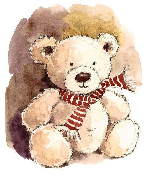 502x600 Teddy Bears By Maria Stezhko On Behance My Watercolors