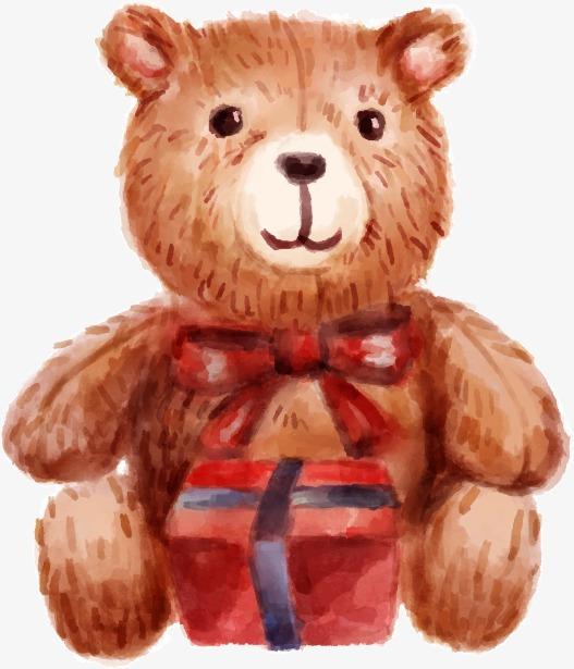 527x615 Vector Drawing Teddy Bear, Bear Vector, Teddy Bear, Watercolor Png