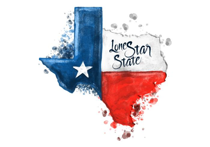 Texas Watercolor At Getdrawings Com Free For Personal