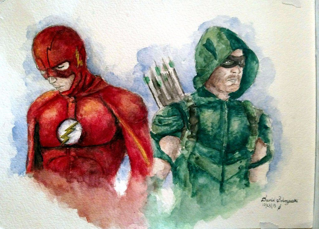 The Flash Art Drawings