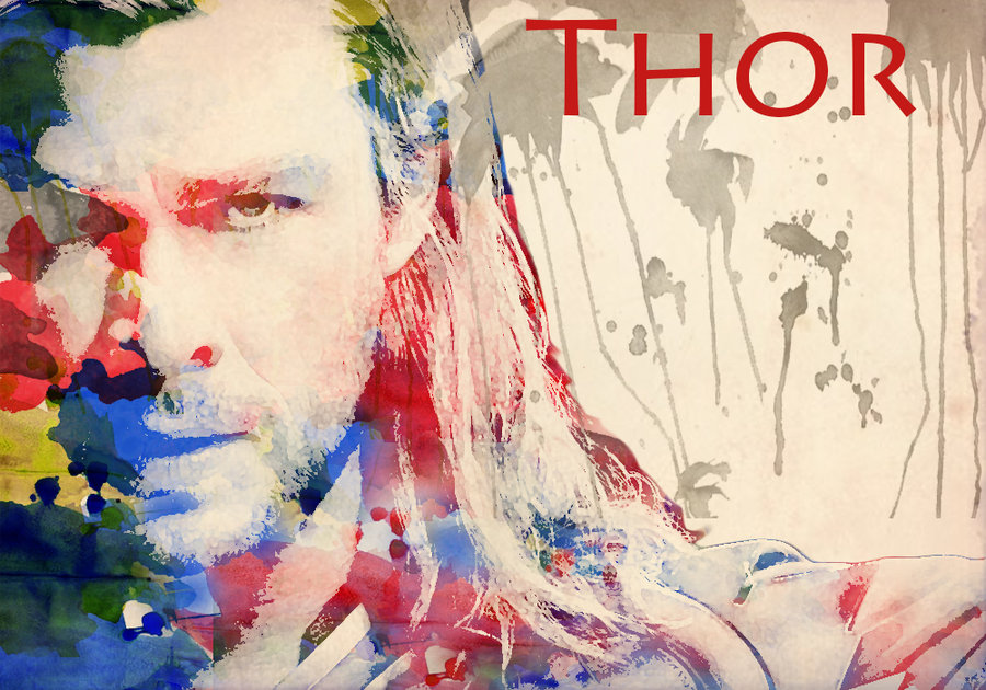 900x630 Thor Watercolor By Thnksfrthwilliam