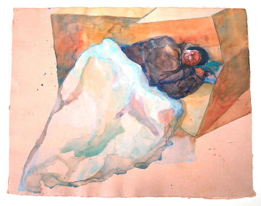 1000x790 Watercolor (Figures) Wendy Shalen