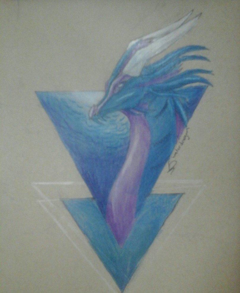 809x988 Sea Dragon (Toned Paper) By Sonatathesunwings