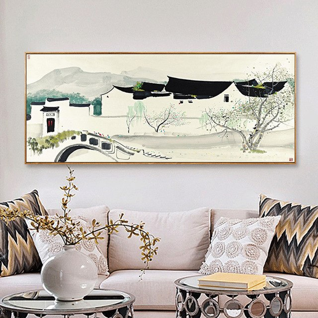 640x640 Haochu 7 Vintage Traditional Chinese South China Watercolor Famous