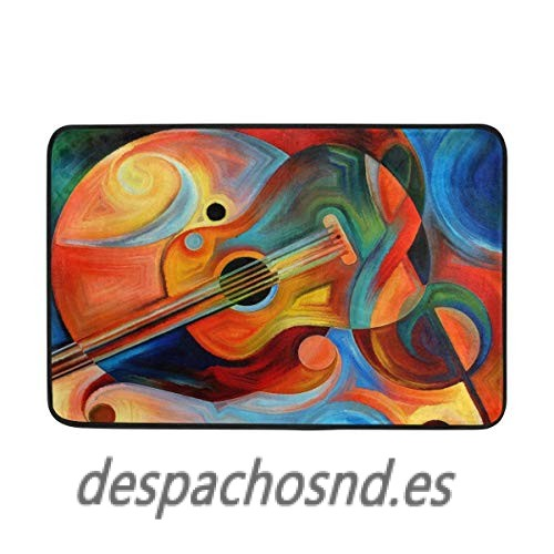 500x500 Jinhua19 Felpudos Watercolor Abstract Psychedelic Trippy Music
