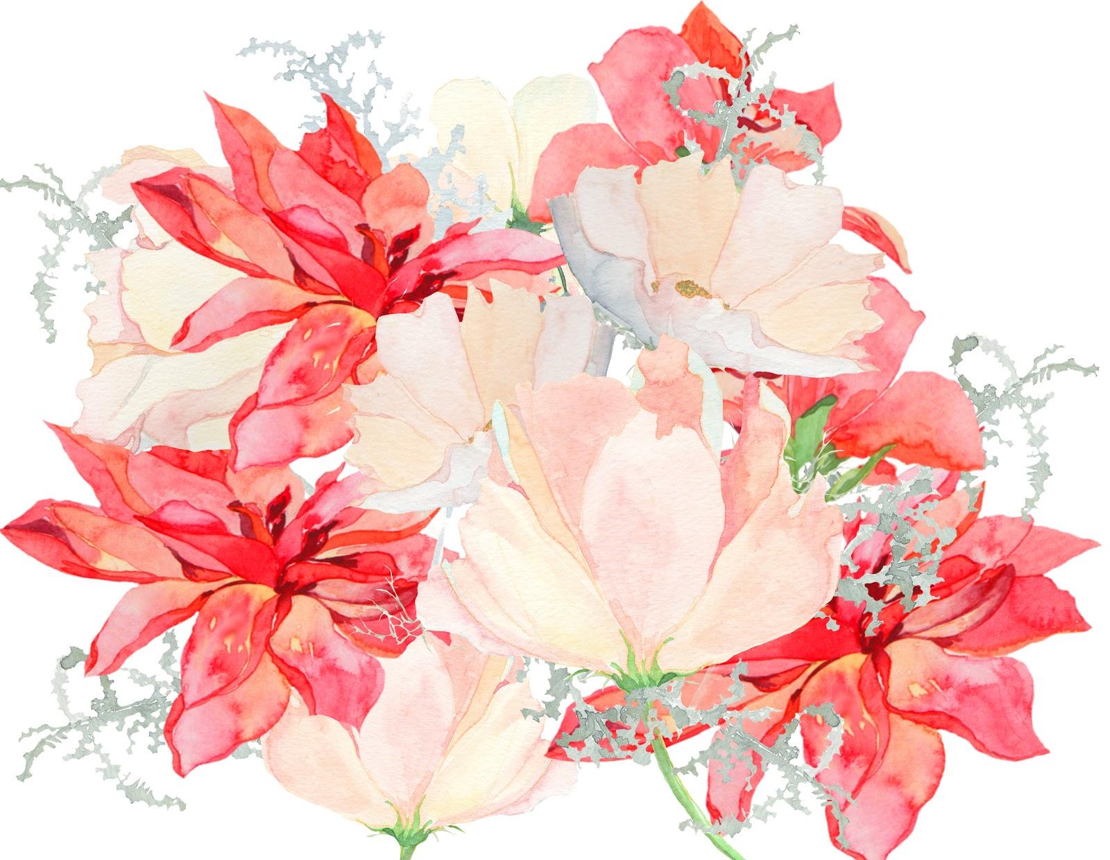 Tumblr Watercolor Flowers