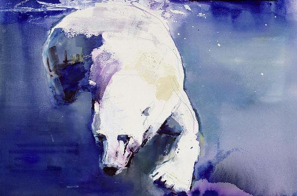 Underwater Watercolor Paintings
