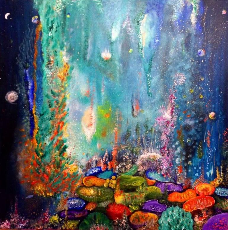 Underwater Watercolor Paintings at GetDrawings | Free download