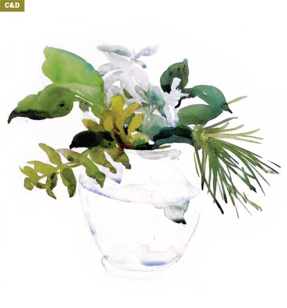 560x600 How To Paint A Watercolor Floral Still Life Step By Step Artist