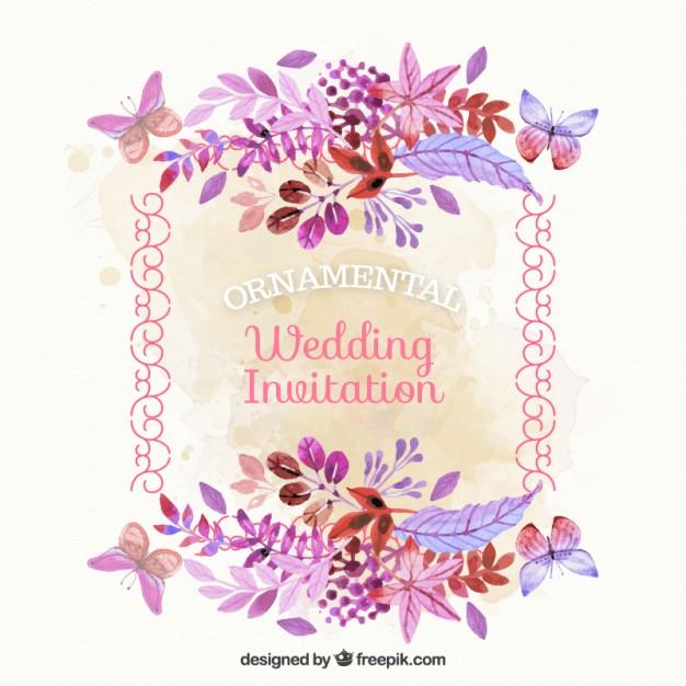 Wedding Invitation In 2019 Fondos De Flores Fondos