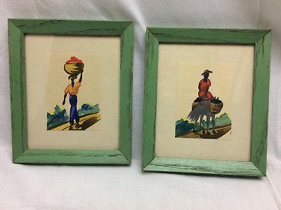 Vintage Watercolor Paintings