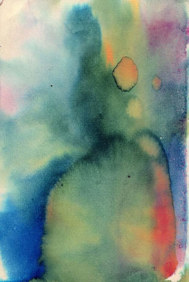 Vintage Watercolor Paper Texture