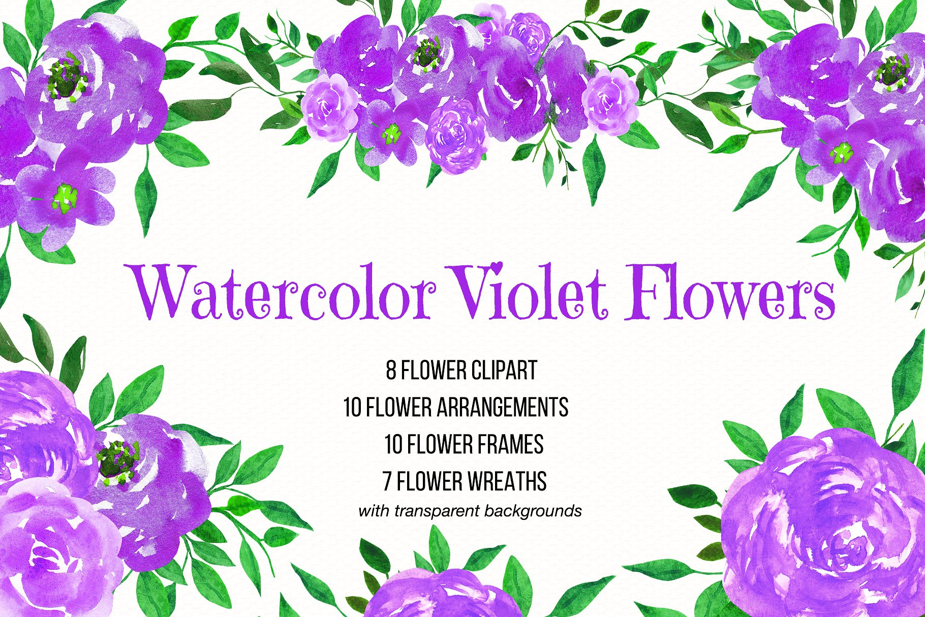 1820x1214 Watercolor Flower Clipart,flower Arrangements,flower Wreaths