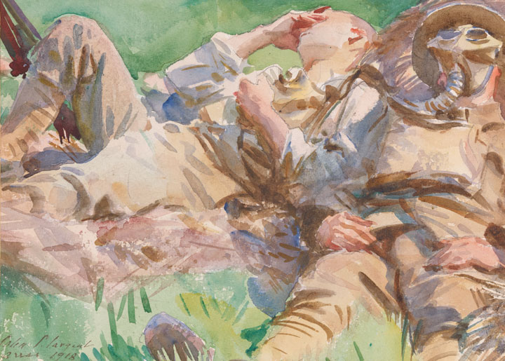 720x515 John Singer Sargent And World War I Public Art And Personal Loss