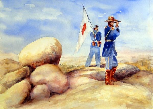 600x430 Civil War Art Exhibit Is On Display