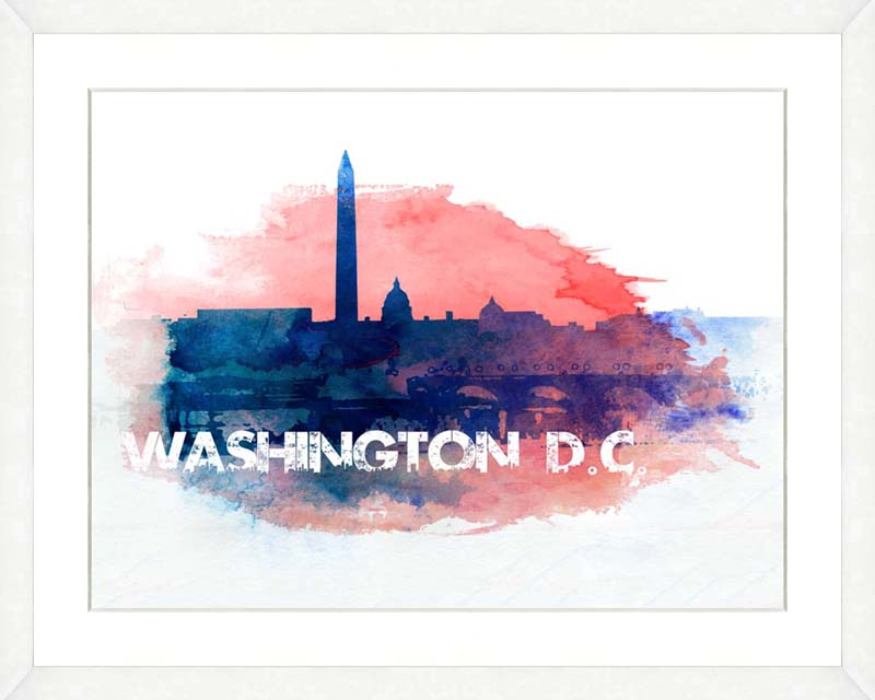 Washington Dc Watercolor