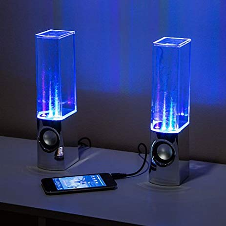 463x463 Dancing Water Show Computer Speakers Led Water