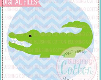 340x270 Watercolor Alligator Etsy