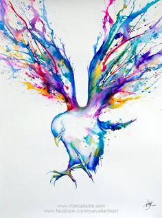 Watercolor Animal Art