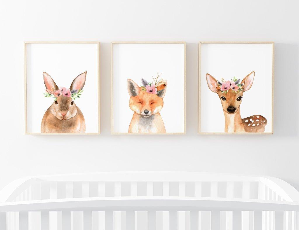 1024x788 Baby Boho Animal Nursery Art Bundle Caden Lane