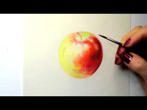 480x360 Painting Watercolor Apple