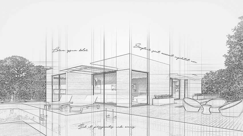 850x478 How To Create An Architecture Sketch Effect In Adobe Photoshop