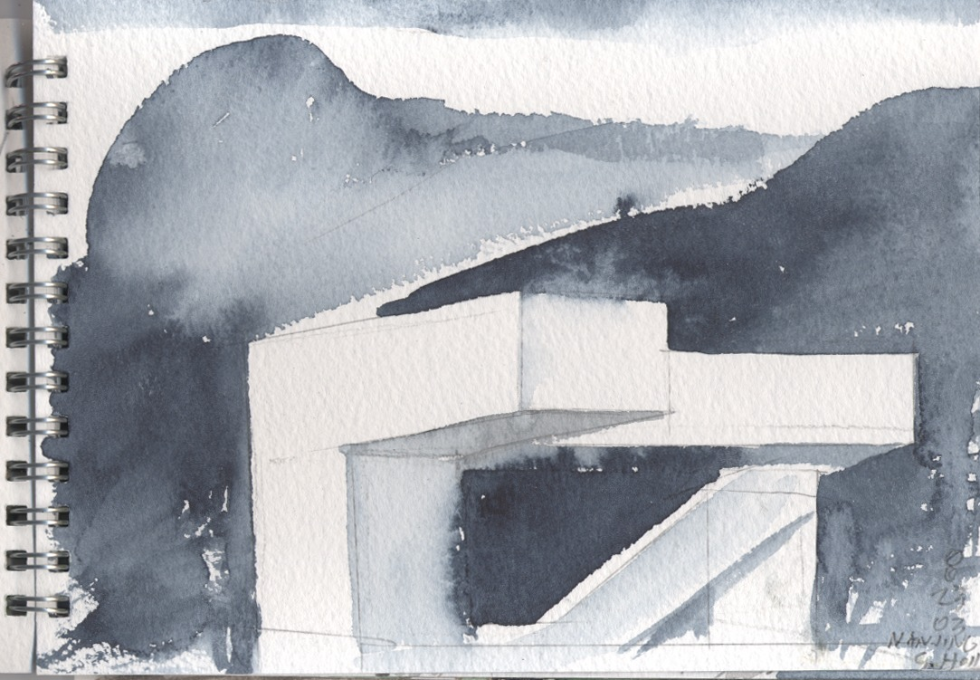 1083x751 Architect Steven Holl On Starting Every Project With A Watercolour