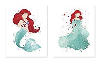 355x224 8x10 P37 The Little Mermaid Poster Ariel
