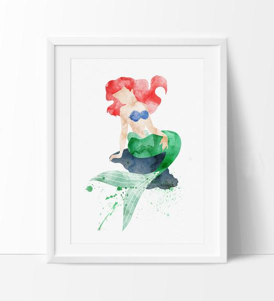 547x600 Ariel, Princess Ariel, Disney Watercolor, Watercolor Mermaid Ariel