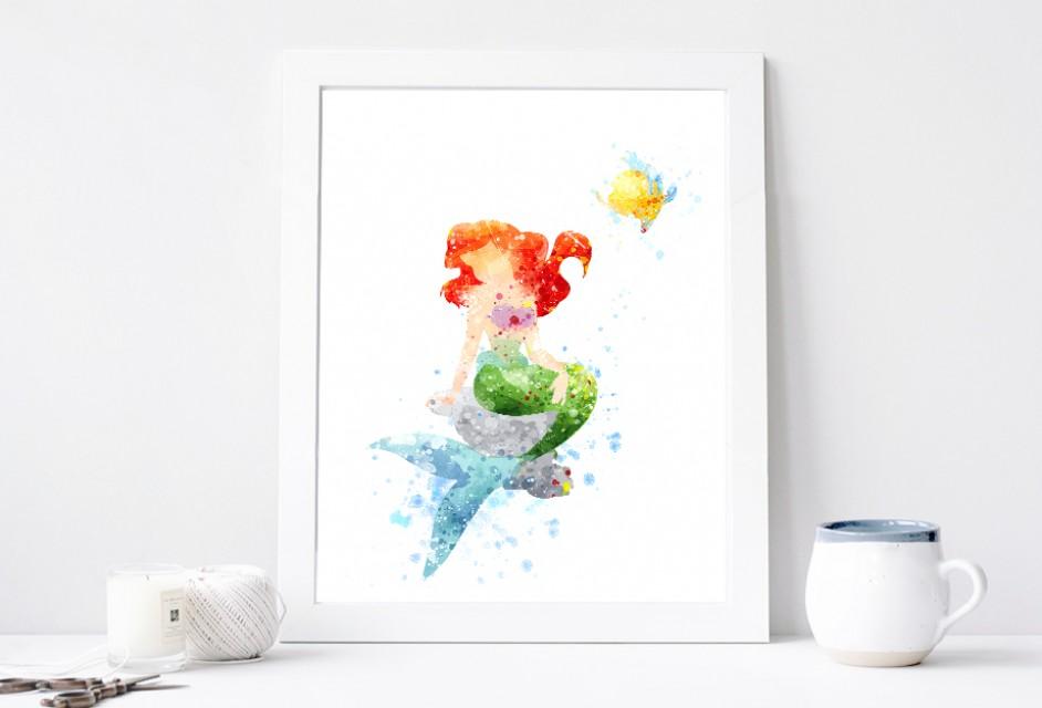942x640 Princess Ariel Poster